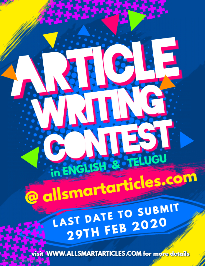 Article Writing Competition February 2020